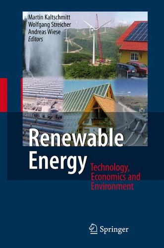 Renewable Energy: Technology, Economics and Environment (Paperback)