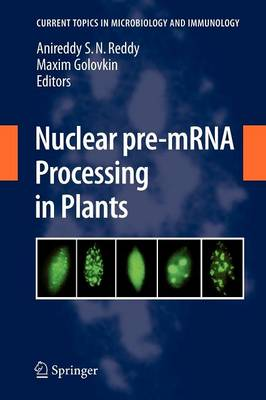 Nuclear pre-mRNA Processing in Plants - Current Topics in Microbiology and Immunology 326 (Paperback)