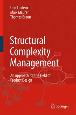 Structural Complexity Management: An Approach for the Field of Product Design (Paperback)