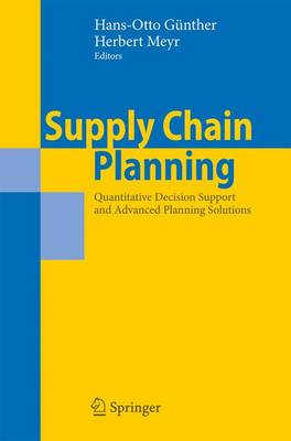 Supply Chain Planning: Quantitative Decision Support and Advanced Planning Solutions (Paperback)