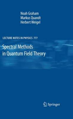 Spectral Methods in Quantum Field Theory - Lecture Notes in Physics 777 (Paperback)