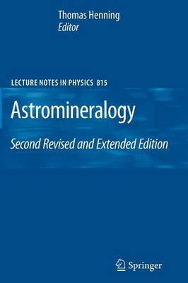 Astromineralogy - Lecture Notes in Physics 815 (Paperback)
