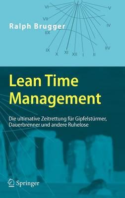 Lean Time Management (Hardback)
