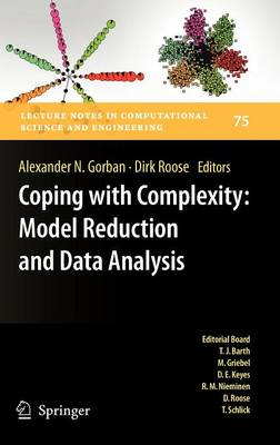 Coping with Complexity: Model Reduction and Data Analysis - Lecture Notes in Computational Science and Engineering 75 (Hardback)