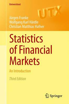 Statistics of Financial Markets: An Introduction - Universitext (Paperback)