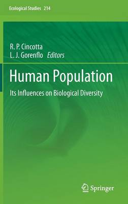 Human Population: Its Influences on Biological Diversity - Ecological Studies 214 (Hardback)