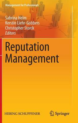 Reputation Management - Management for Professionals (Hardback)