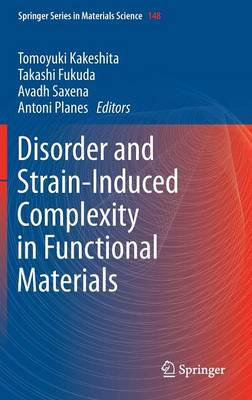 Disorder and Strain-Induced Complexity in Functional Materials - Springer Series in Materials Science 148 (Hardback)