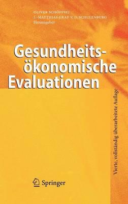 Gesundheitsokonomische Evaluationen (Hardback)