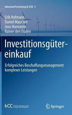 Investitionsgutereinkauf (Hardback)