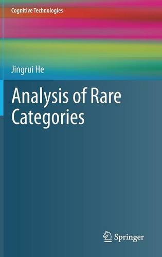 Analysis of Rare Categories - Cognitive Technologies (Hardback)