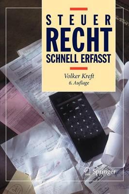Steuerrecht - Schnell Erfasst - Recht - Schnell Erfasst (Paperback)