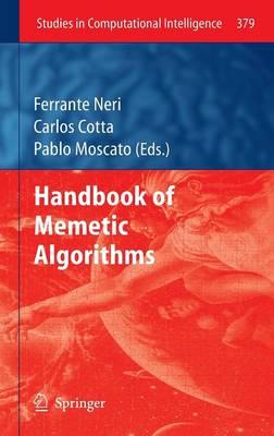 Handbook of Memetic Algorithms - Studies in Computational Intelligence 379 (Hardback)