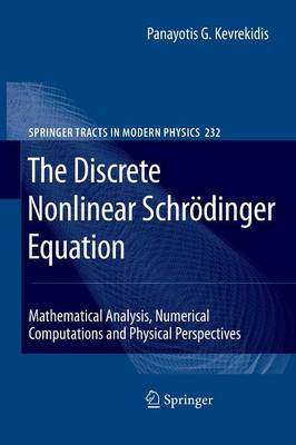 The Discrete Nonlinear Schroedinger Equation: Mathematical Analysis, Numerical Computations and Physical Perspectives - Springer Tracts in Modern Physics 232 (Paperback)