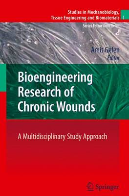 Bioengineering Research of Chronic Wounds: A Multidisciplinary Study Approach - Studies in Mechanobiology, Tissue Engineering and Biomaterials 1 (Paperback)