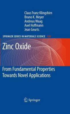 Zinc Oxide: From Fundamental Properties Towards Novel Applications - Springer Series in Materials Science 120 (Paperback)