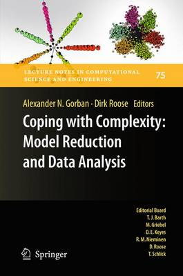 Coping with Complexity: Model Reduction and Data Analysis - Lecture Notes in Computational Science and Engineering 75 (Paperback)