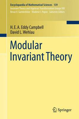 Modular Invariant Theory - Encyclopaedia of Mathematical Sciences 139 (Paperback)