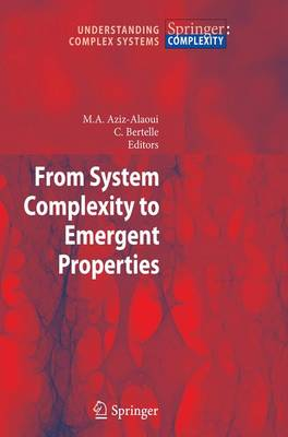 From System Complexity to Emergent Properties - Understanding Complex Systems (Paperback)