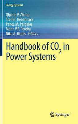 Handbook of CO2 in Power Systems - Energy Systems (Hardback)