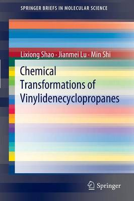 Chemical Transformations of Vinylidenecyclopropanes - SpringerBriefs in Molecular Science (Paperback)