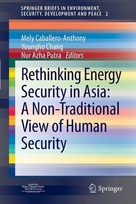 Rethinking Energy Security in Asia: A Non-Traditional View of Human Security - SpringerBriefs in Environment, Security, Development and Peace 2 (Paperback)