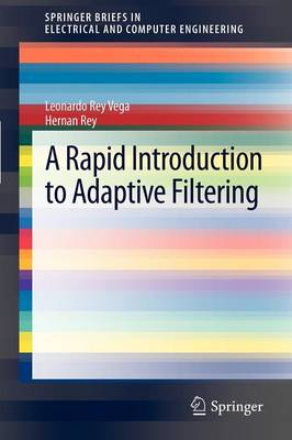 A Rapid Introduction to Adaptive Filtering - SpringerBriefs in Electrical and Computer Engineering (Paperback)