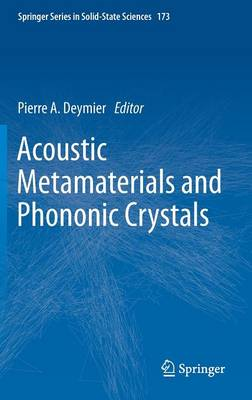 Acoustic Metamaterials and Phononic Crystals - Springer Series in Solid-State Sciences 173 (Hardback)