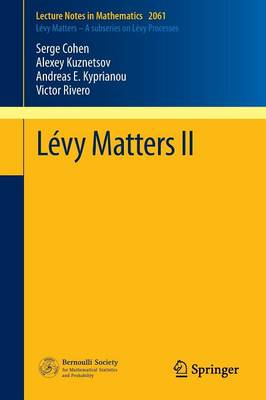 Levy Matters II: Recent Progress in Theory and Applications: Fractional Levy Fields, and Scale Functions - Lecture Notes in Mathematics 2061 (Paperback)