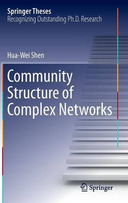 Community Structure of Complex Networks - Springer Theses (Hardback)