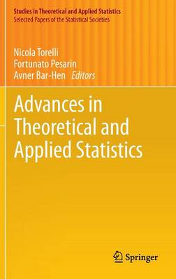 Advances in Theoretical and Applied Statistics - Selected Papers of the Statistical Societies (Hardback)