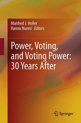 Power, Voting, and Voting Power: 30 Years After (Hardback)