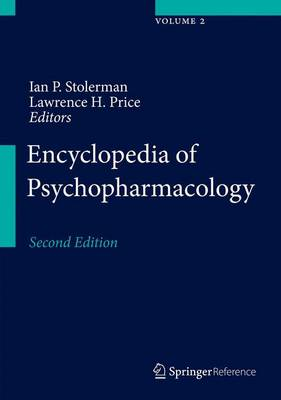 Encyclopedia of Psychopharmacology - Encyclopedia of Psychopharmacology