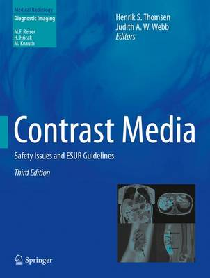 Contrast Media: Safety Issues and ESUR Guidelines - Diagnostic Imaging (Hardback)