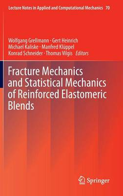 Fracture Mechanics and Statistical Mechanics of Reinforced Elastomeric Blends - Lecture Notes in Applied and Computational Mechanics 70 (Hardback)