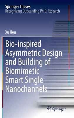 Bio-inspired Asymmetric Design and Building of Biomimetic Smart Single Nanochannels - Springer Theses (Hardback)