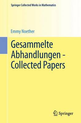 Gesammelte Abhandlungen - Collected Papers - Springer Collected Works in Mathematics (Paperback)
