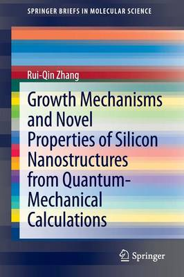 Growth Mechanisms and Novel Properties of Silicon Nanostructures from Quantum-Mechanical Calculations - SpringerBriefs in Molecular Science (Paperback)