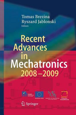 Recent Advances in Mechatronics: 2008 - 2009 (Paperback)