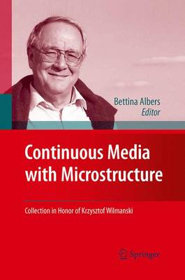 Continuous Media with Microstructure (Paperback)
