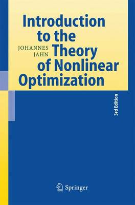 Introduction to the Theory of Nonlinear Optimization (Paperback)