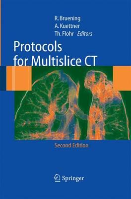 Protocols for Multislice CT (Paperback)