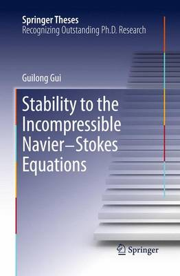 Stability to the Incompressible Navier-Stokes Equations - Springer Theses (Paperback)