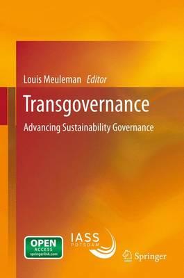 Transgovernance: Advancing Sustainability Governance (Paperback)