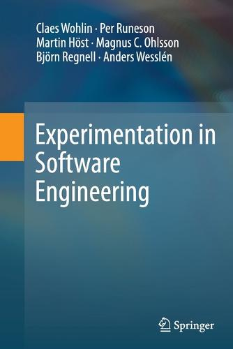 Experimentation in Software Engineering (Paperback)