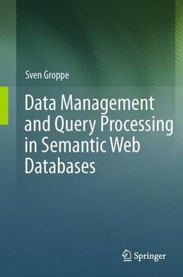 Data Management and Query Processing in Semantic Web Databases (Paperback)