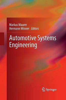 Automotive Systems Engineering (Paperback)