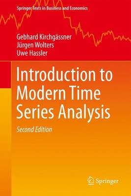 Introduction to Modern Time Series Analysis - Springer Texts in Business and Economics (Paperback)