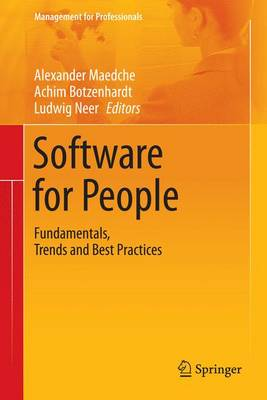Software for People: Fundamentals, Trends and Best Practices - Management for Professionals (Paperback)