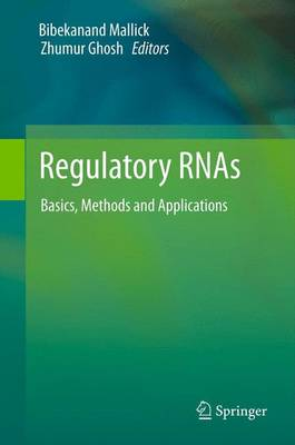Regulatory RNAs: Basics, Methods and Applications (Paperback)